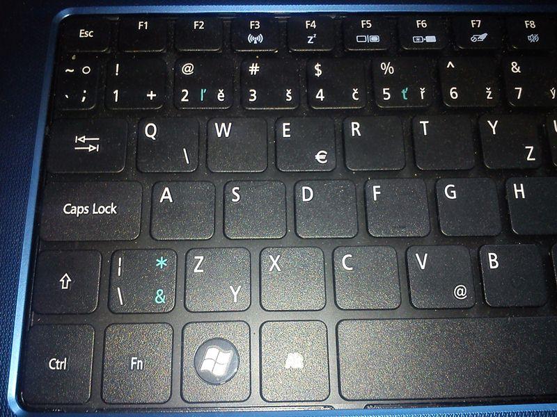kláves